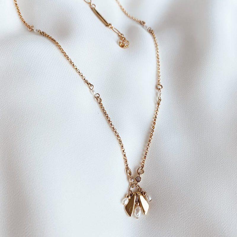 שרשרת לוטוס עשויה גולדפילד