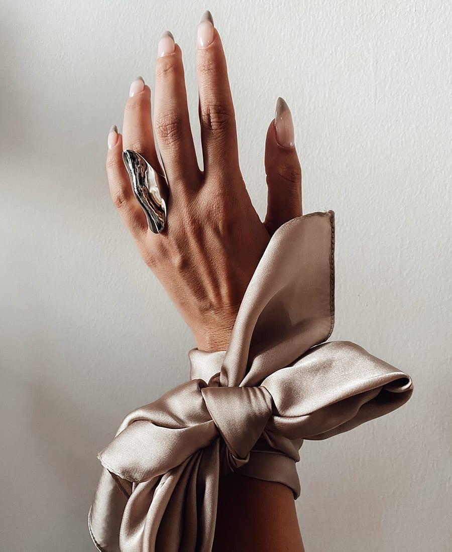 טבעת קלייר כסף925