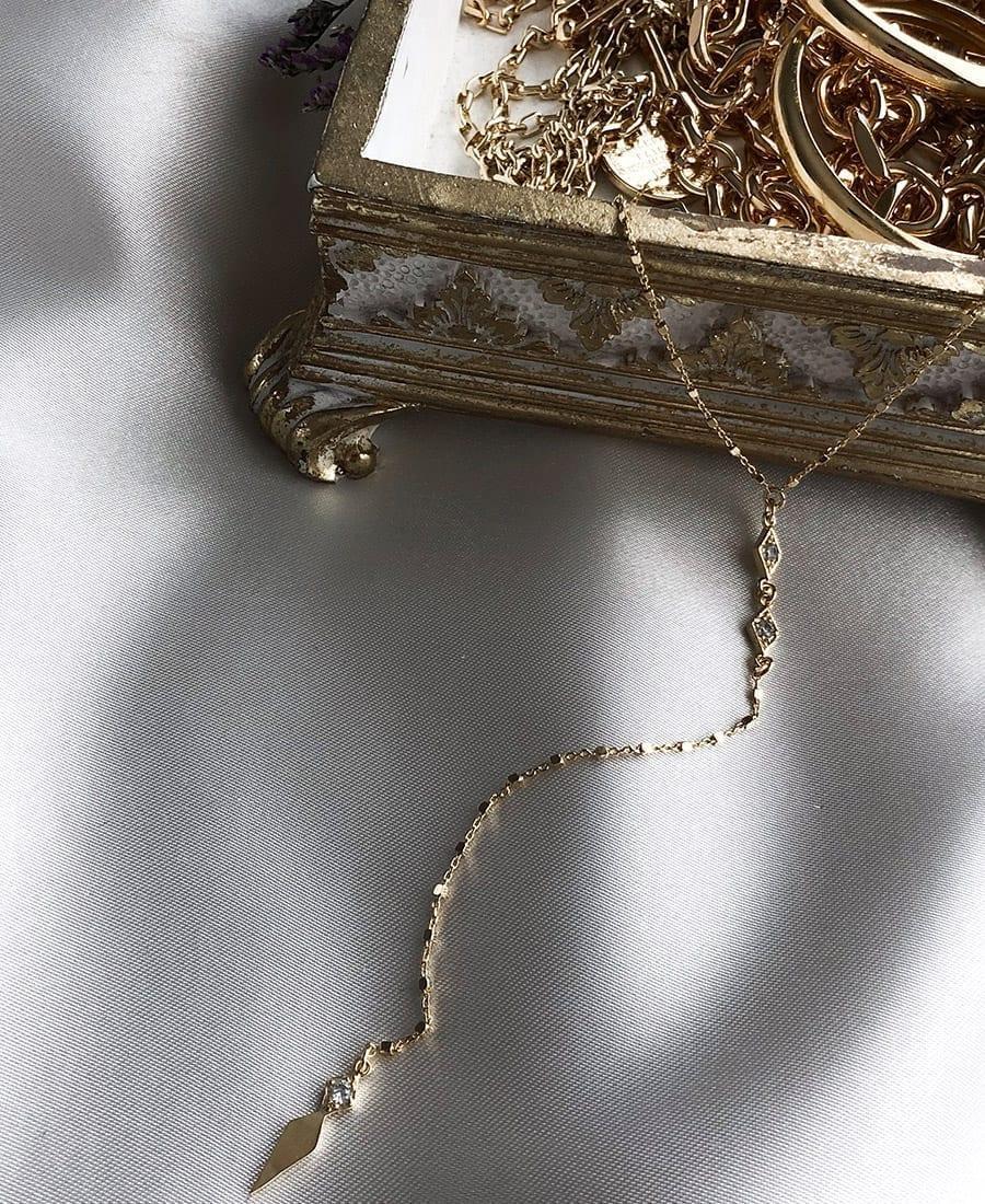 שרשרת עניבה כסף 925