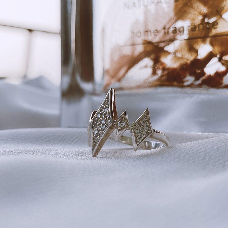 ג'יין טבעת כסף 925