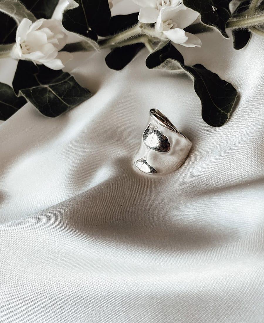 טבעת נואל כסף 925