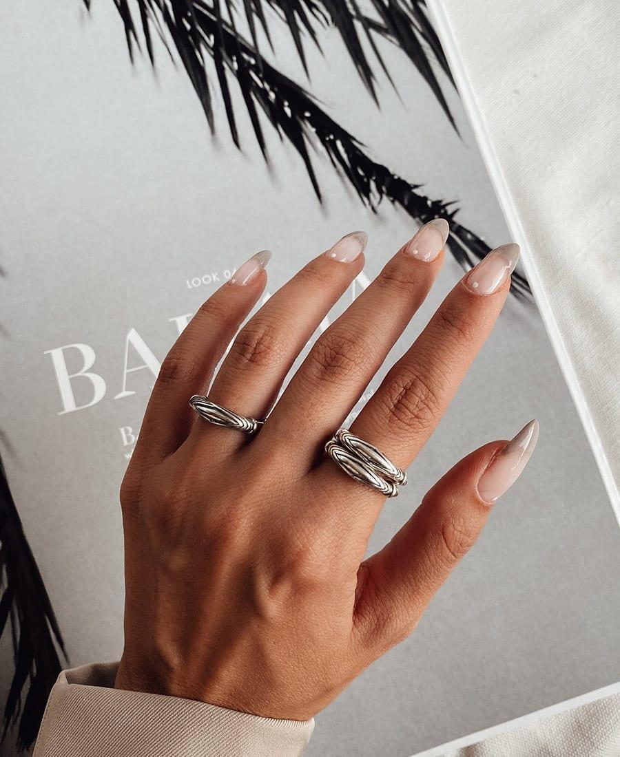 טבעת פורט כסף 925.