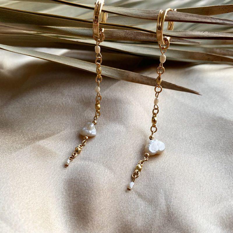 מנארה עגילי זהב