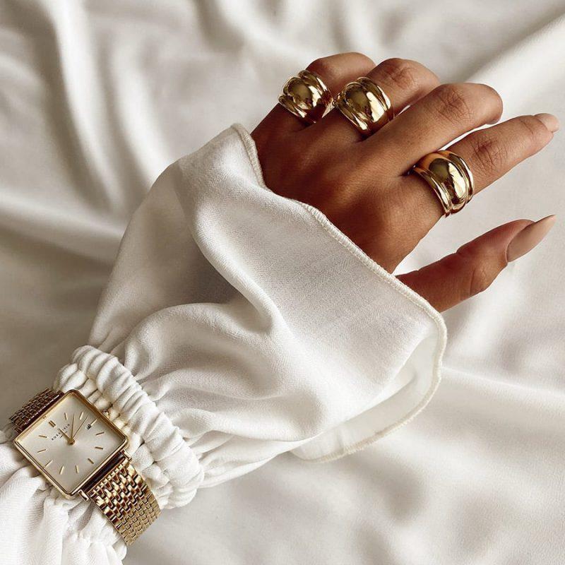 טבעת רנה זהב
