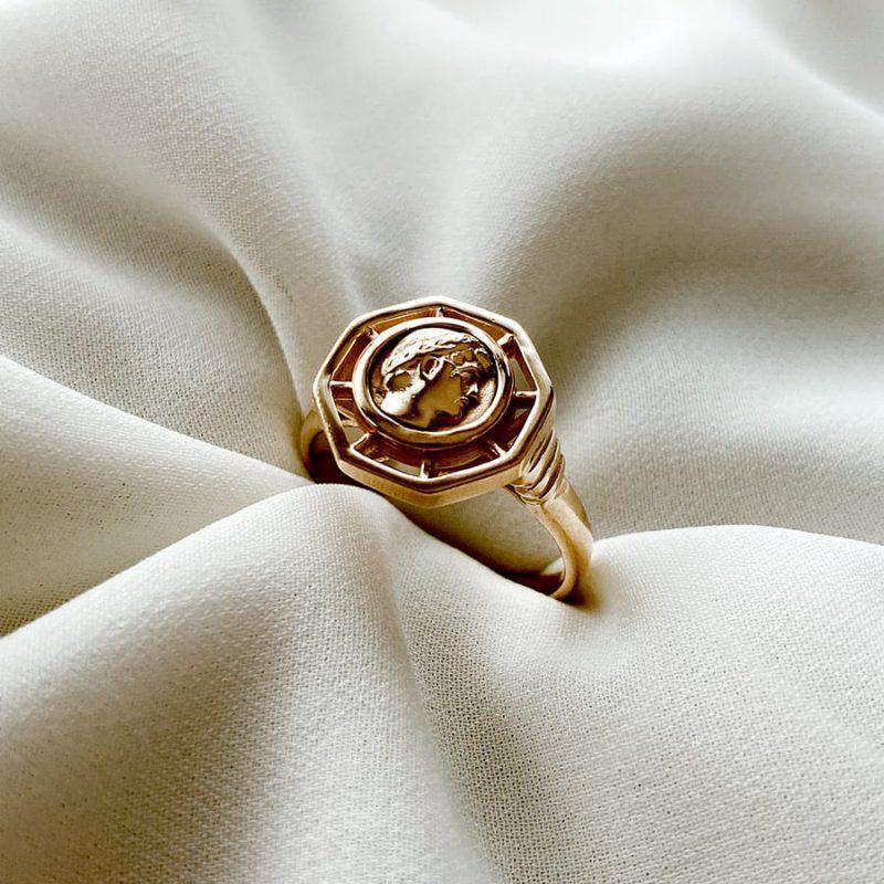 טבעת כסף נור