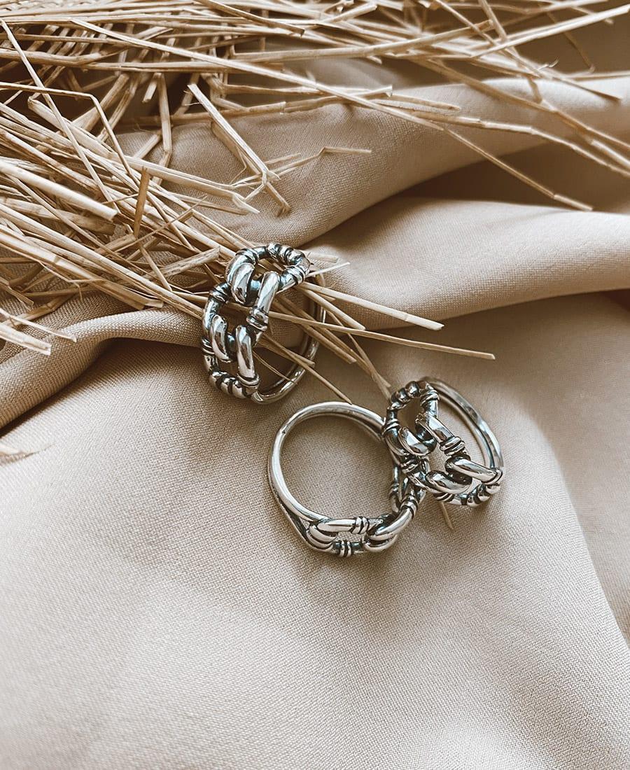 טבעת איכותית כסף נאיה