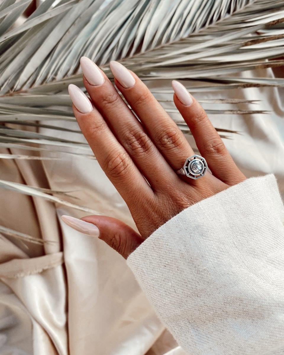 טבעת נור כסף 925