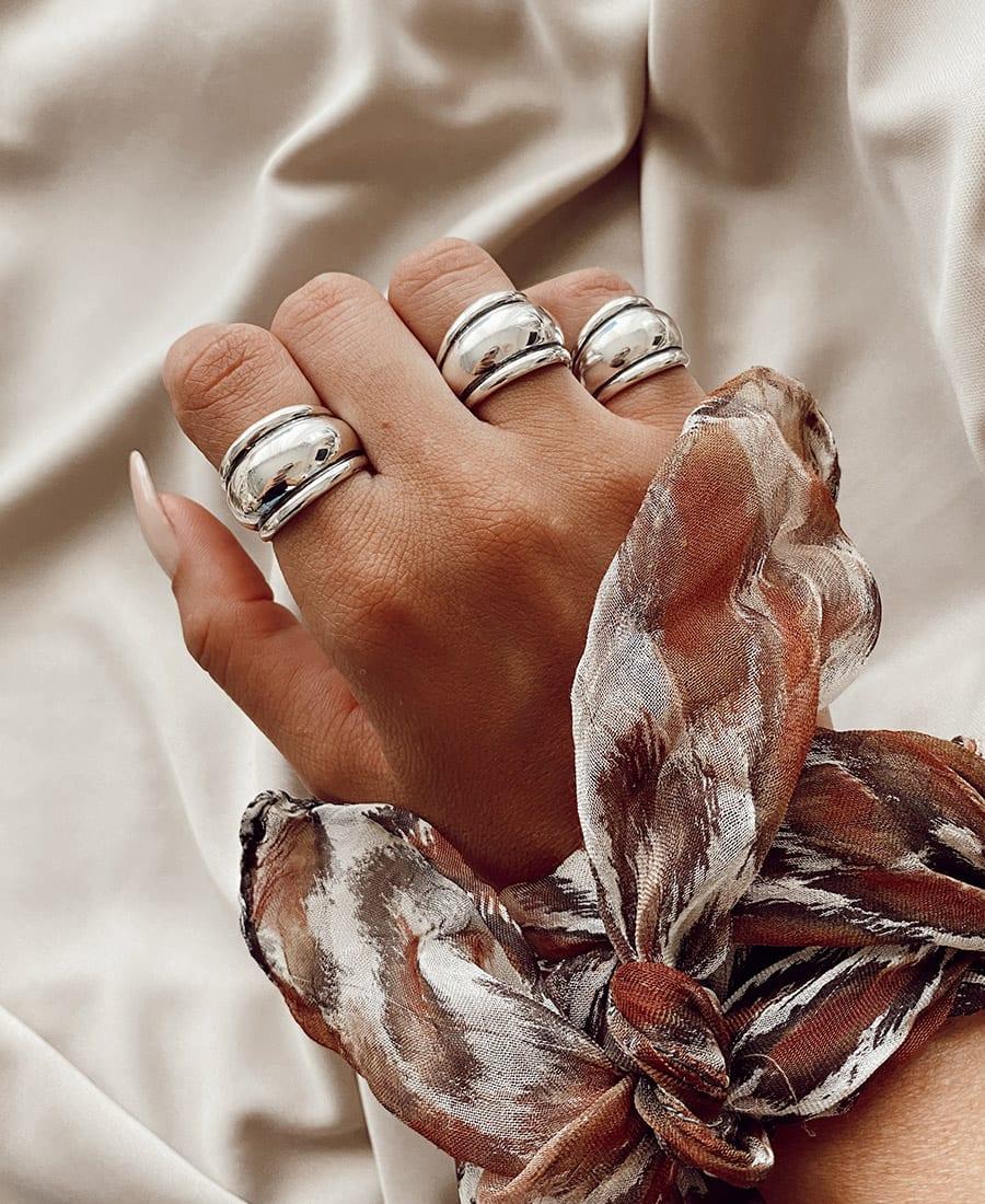 רנה טבעת כסף