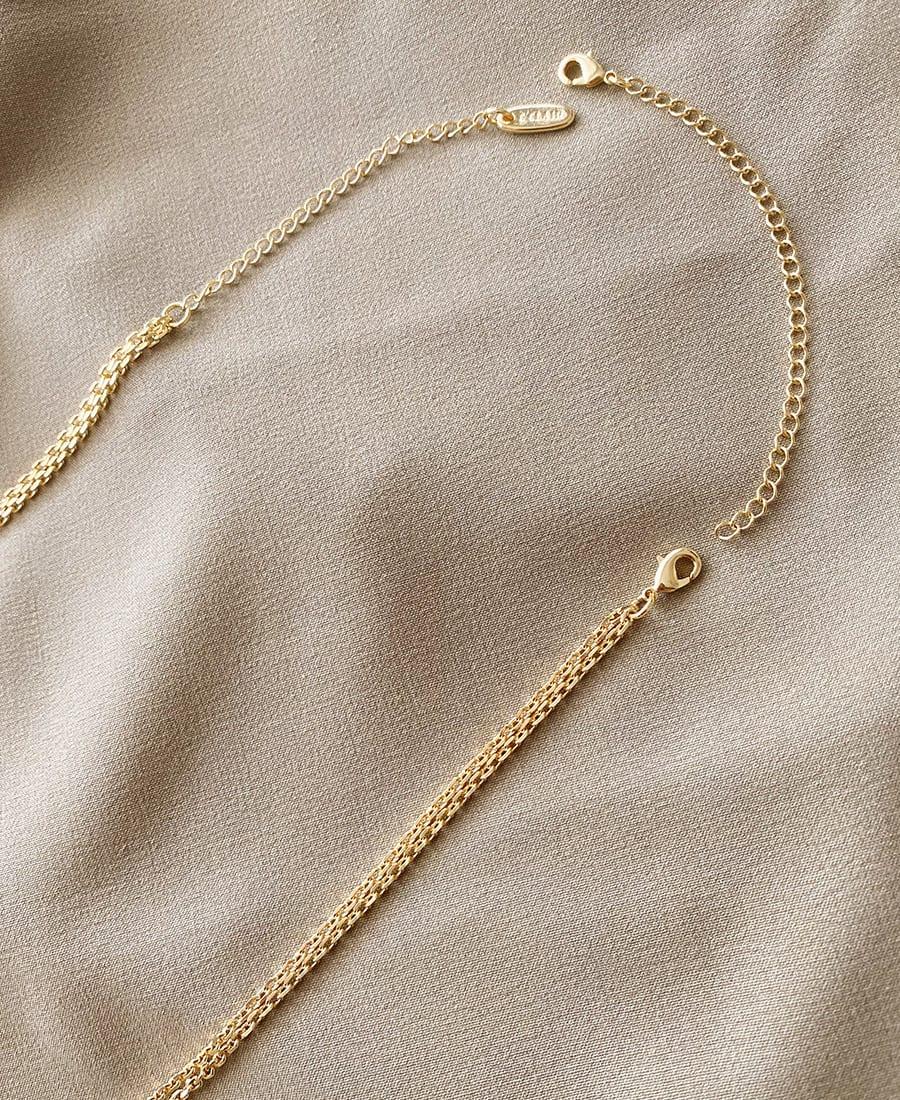 """שרשרת הארכה זהב 11 ס""""מ"""