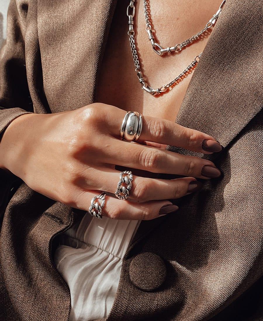 טבעת רנה עשויה כסף 925