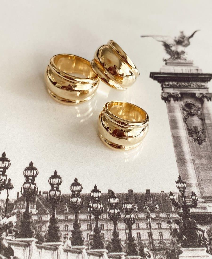 טבעת רנה עשויה פליז