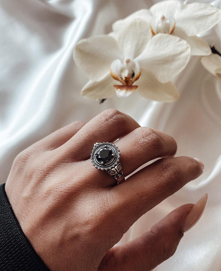 אליזה טבעת כסף 925