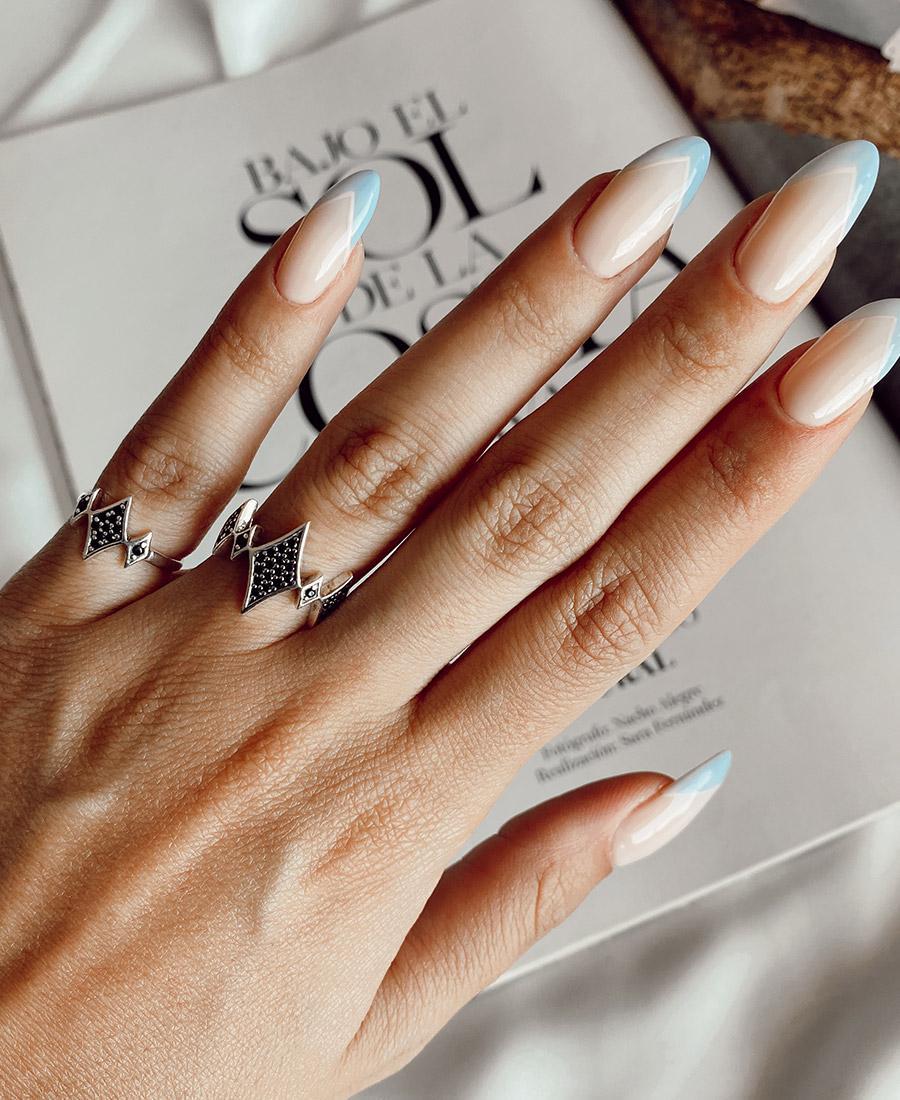טבעת כסף בשילוב זרקונים מיני ג'יין טבעת כסף 925